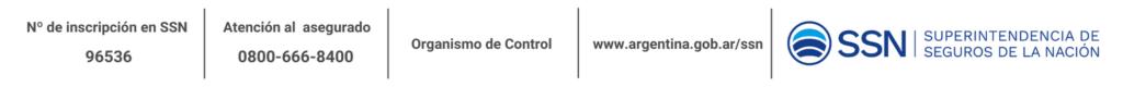 Insripcion SSN - Agencia de seguros Autorizada